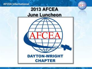 2013 AFCEA  June Luncheon