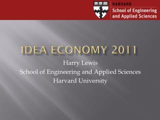 Idea Economy 2011