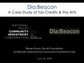 Dia:Beacon A Case Study of Tax Credits & the Arts