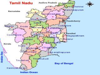 Boundary of Tamil Nadu