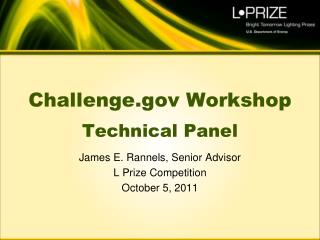 Challenge Workshop Technical Panel