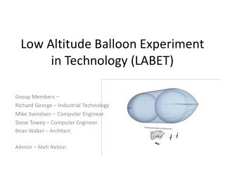 Low Altitude Balloon Experiment in Technology (LABET)