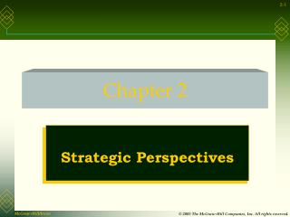 Strategic Perspectives