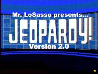 Mr.  LoSasso  presents…