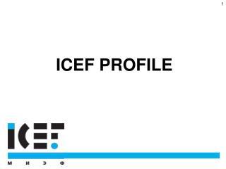 ICEF PROFILE