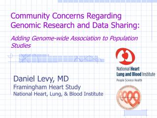 Community Concerns Regarding Genomic Research and Data Sharing:    Adding Genome-wide Association to Population Studies