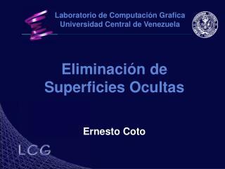 Eliminación de Superficies Ocultas