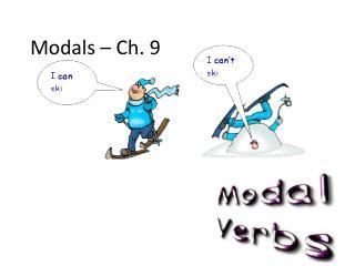 Modals – Ch. 9