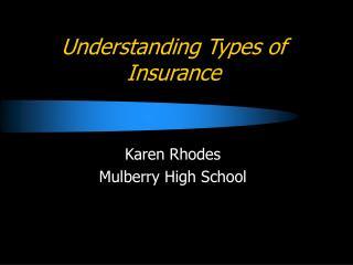 Understanding Types of Insurance