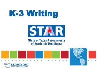 K-3 Writing