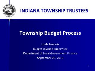 INDIANA TOWNSHIP TRUSTEES
