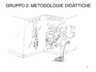 GRUPPO 2: METODOLOGIE DIDATTICHE