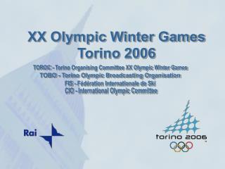 TOBO - Torino Olympic Broadcasting Organisation