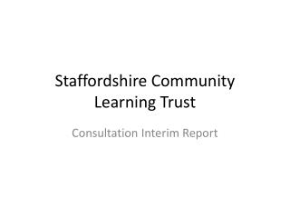 Staffordshire Community Learning Trust