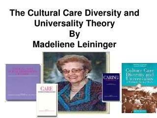 The Cultural Care Diversity and Universality Theory By Madeliene Leininger