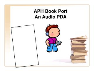 APH Book Port An Audio PDA