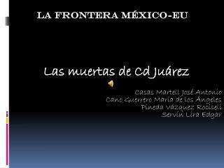 La frontera México-EU