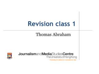 Revision class 1