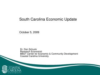 South Carolina Economic Update