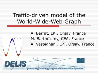 Traffic-driven model of the World-Wide-Web Graph