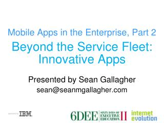 Mobile Apps in the Enterprise, Part 2