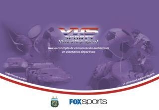 Cobertura de señales de Publicidad 3D en Tiempo Real que comercializa VHS  Sports
