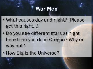 War  Mep