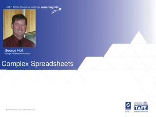 Complex Spreadsheets