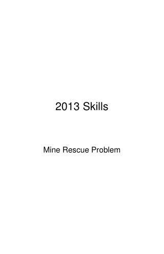 2013 Skills