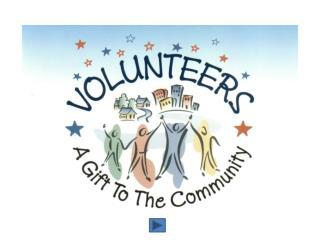 Capital Area United Way Volunteer Center Recruiting Volunteer Ideas Why Do People Volunteer?