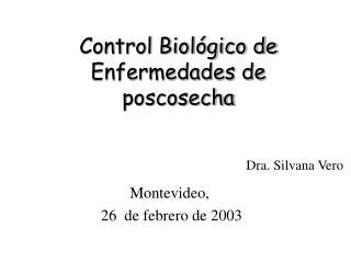 Control Biológico de Enfermedades de poscosecha