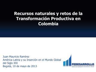 Juan Mauricio Ramírez América Latina y su Inserción en el Mundo Global del Siglo  XXI