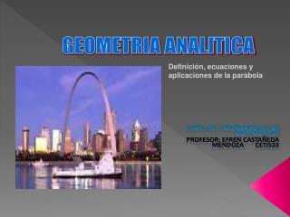 CURSO DE ENSEÑANZA DE LAS MATEMÁTICAS PROFESOR: EFREN CASTAÑEDA MENDOZA       CETIS33
