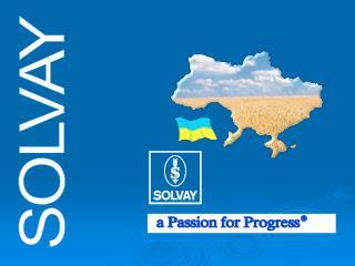 SOLVAY –  признанный лидер во всем мире