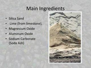 Main Ingredients