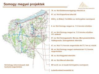 Somogy megyei projektek