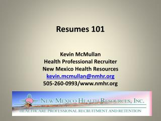 Resumes 101