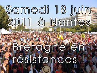 Toutes et tous à Nantes le samedi 18 juin 2011 !