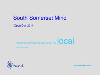 South Somerset Mind