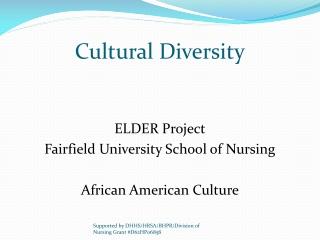 Describe the  common elements  in African societies.