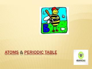 Atoms  &  Periodic Table