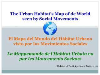Habitat et Participation – Dakar 2011