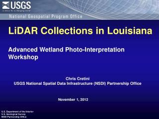 Advanced Wetland  Photo-Interpretation  Workshop