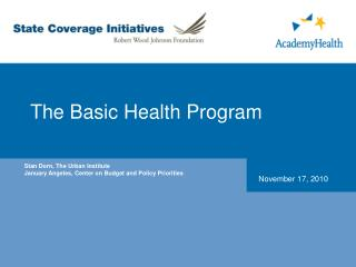 The Basic Health Program