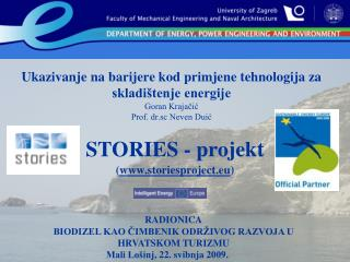 STORIES  - projekt ( storiesproject.eu )