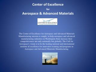 Center of Excellence for Aerospace & Advanced Materials
