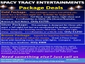 SPACY TRACY ENTERTAINMENTS