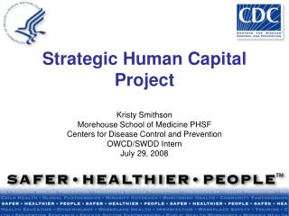 Strategic Human Capital Project