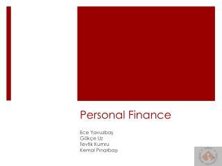 P ersonal Finance