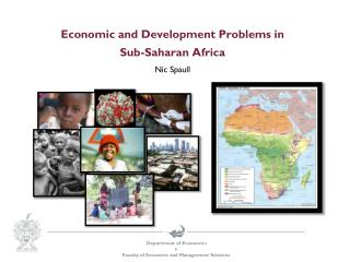 Economic and Development Problems in  Sub-Saharan Africa